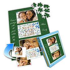 新年主题 10×8英寸个性拼盘拼图 3图拼贴