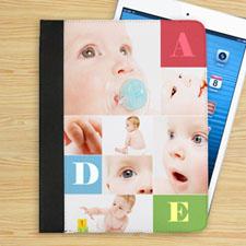 高档苹果IPAD保护皮套7图照片定制IPAD平板保护套/壳