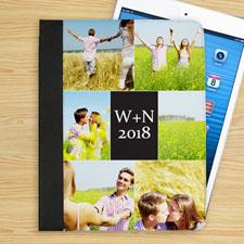 高档苹果IPAD保护皮套6图照片定制IPAD平板保护套/壳