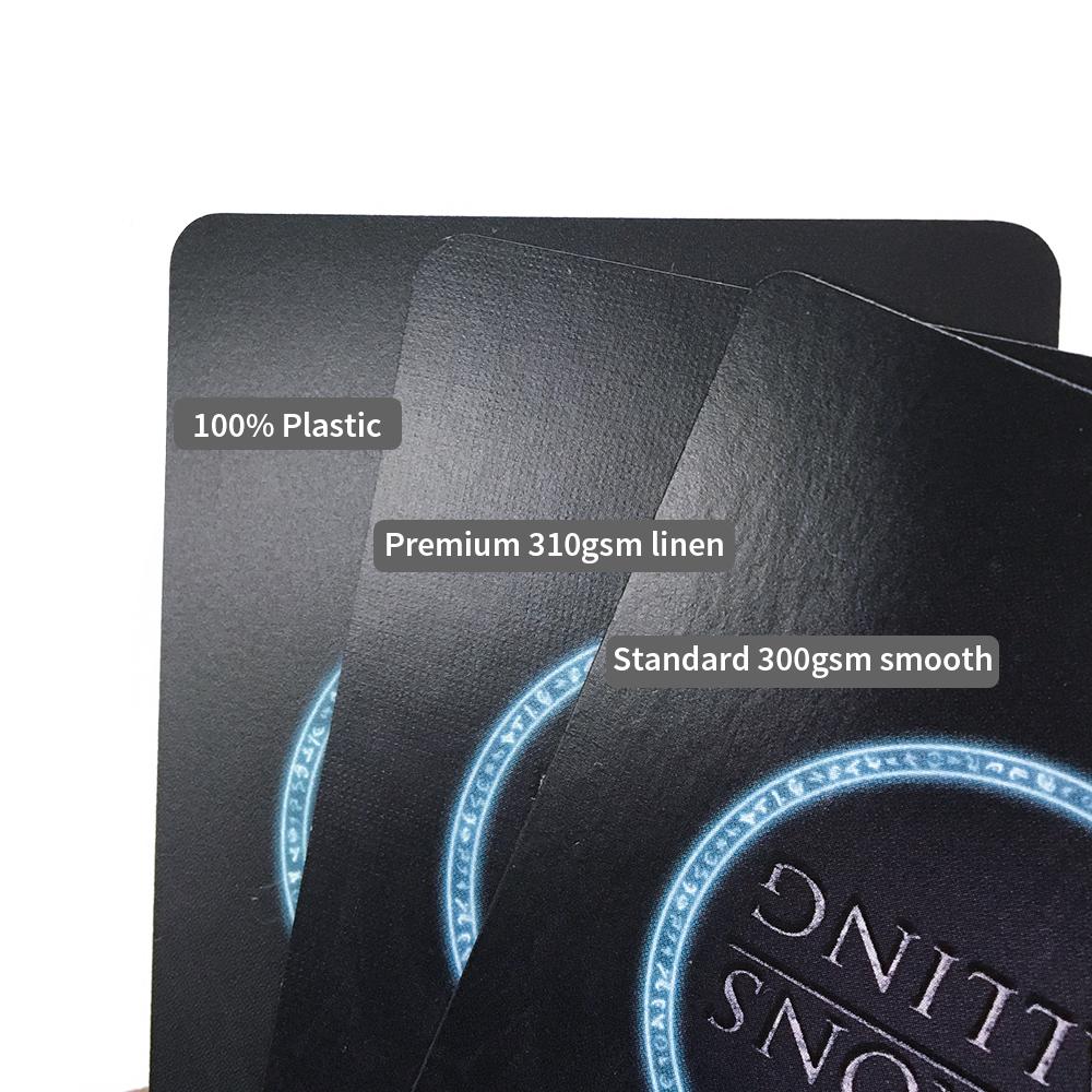 不同材质卡牌