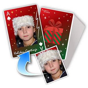 圣诞节礼物 个性扑克牌