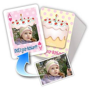 宝宝周岁纪念主题 个性扑克牌