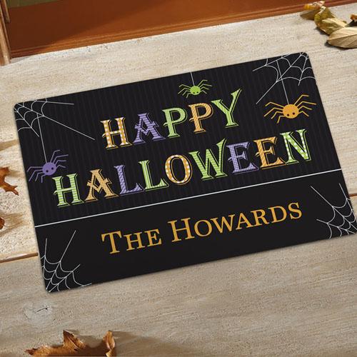 Create Your Own Happy Halloween Door Mat