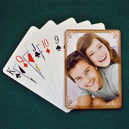 可可色 结婚纪念扑克牌