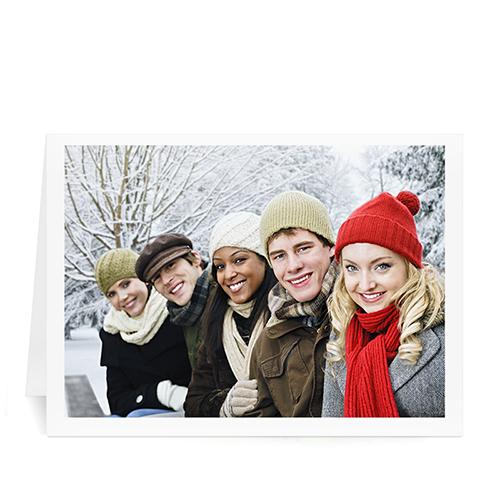 圣诞主题黑色边框,个性贺卡-正印坊