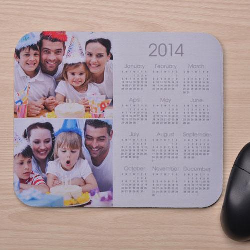 2图拼盘 带日历鼠标垫 白色 2015
