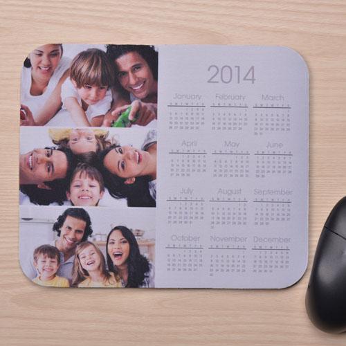 3图拼盘 带日历鼠标垫 白色 2015