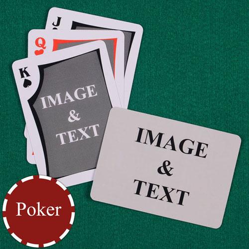 双面定制扑克牌(正面古典图案,背面横式)
