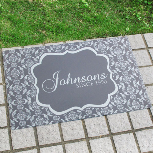 Create Your Own Personalized Our Family Welcome Door Mat