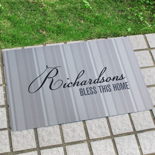 Create Your Own Personalized Classic Monogrammed Door Mat