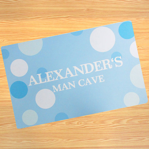 Create Your Own Personalized Boy My Name Door Mat