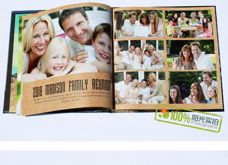 优选纸材,精美印刷,适合制作成长纪念册,毕业纪念册,家庭照片纪念册