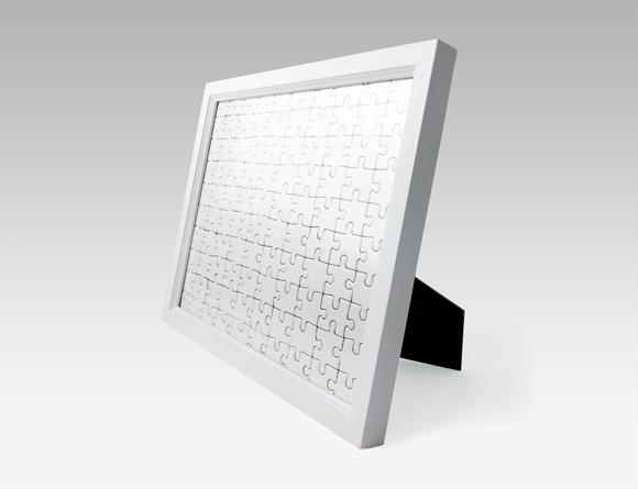 立式白色相框(横竖通用)